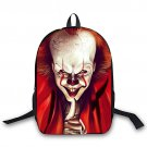 Pennnywise IT Horror Movie Characters Nightmare Backpack School Bag