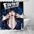 Elvira Mistress of the Dark Shower Curtains Home Decor Horror TV Movie 2