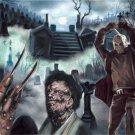 Freddy Krueger Michael Myers Jason Leatherface Horror Un-Framed Wall Decor painting 1pc