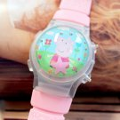 Peppa Pig Cartoon Character Kids Wristwatch Set of 10 Party Gifts Girls boys