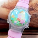 Peppa Pig Cartoon Character Kids Wristwatch Set of 10 Party Gifts Girls boys
