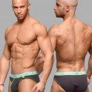 Andrew Christian V Waist Cotton Underwear briefs for Men Black