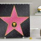 Hollywood Walk of Fame Celebrity Movie Film Shower Curtain