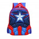 Captain America Character Superhero Technic Design Backpack School Bag  M