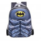 Batman Character Superhero Technic Design Backpack School Bag S