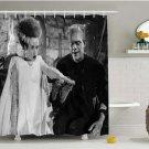 Frankenstein Universal Monster Shower Curtains Home Decor Horror TV Movie