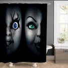 Chucky and Bride of Chucky Monster Shower Curtains Home Decor Horror TV Movie