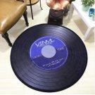 Vinyl Record Music Retro Style Rug Home Decor Carpet Rug Mat- Classic LP Record S