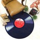 Vinyl Record Music Retro Style Rug Home Decor Carpet Rug Mat- Classic LP Record M