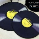 Vinyl Record Music Retro Style Rug Home Decor Carpet Rug Mat- Classic LP Record M