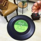 Vinyl Record Rock Music Retro Style Rug Home Decor Carpet Rug Mat- Classic LP Record L