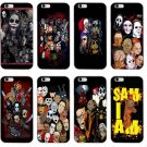 Horror Icon Film Fans iphone covers leatherface, chucky, hellraiser, freddy krueger, jason,