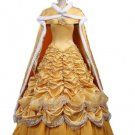 Belle Beauty and the Beast Disney Character Costume Adult Custom Design Cosplay Cloak