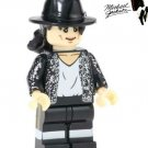 Michael Jackson Pop Artist Mini Figure for LEGO Hollywood Celebrity Bling Suit