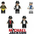 Michael Jackson Pop Artist Mini Figures for LEGO Hollywood Celebrity 5 pc set