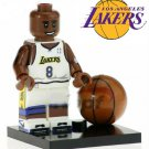 Kobe Bryant Mini Figure for LEGO Hollywood Sports Star Basketball Lakers