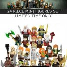 Lord of the rings series 24 piece mini figures set for LEGO