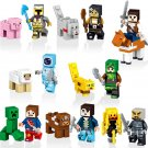 Minecraft Set Mini Figures Building Blocks  Minifigures New Creeper Wither Steve