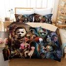 Horror Movie Characters Bedding Set 3pcs Queen