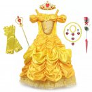 Belle Princess Character Costume Dress CHILD with Accessories