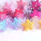 hair accessories clips for girls 12pairs/lot bling star  a002
