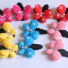 hair accessories clips for girls 12pairs/lot cute butterfly  a004