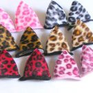 hair accessories clips for girls 12pairs/lot cat ear  a005