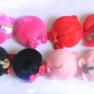 hair accessories clips for girls 12pairs/lot mini hat   a006