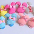 hair accessories clips for girls 12pairs/lot bunny   a007