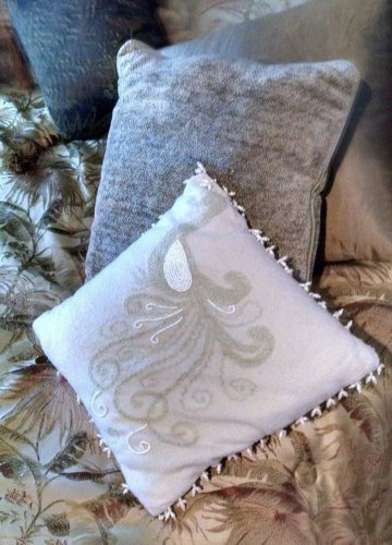 Choice or All Three Decorative Accent Throw Pillow comp colors & Lots of texture