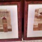"2 Framed Matted Print ""Talisman"" & ""Talisman II"" signed by Artist Susan Jokelson"