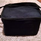 The Bag Factory's Soft side Lunch Tote Box Bag 9 x 6 x 6 Black zipper insulated