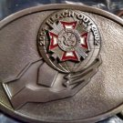 "Vererans Foreign War 2001-2002 Reach Out Limited Edition Belt Buckle 3x2"" Indiv#"