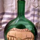 Portugal Mateus Rose Still Wine  Green bottle w/ labels 1 pt 9 oz and deco cork