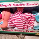 "NIB ""Vintage""  Sing and Snore Ernie Plush Sesame Street NEW"