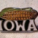 IOWA LAPEL PIN -Corn on the Cob American Heartland Midwest
