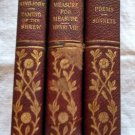 Set of 3 Antique Volumes The Works of William Shakespeare 1907-1909 No. 7,12&20