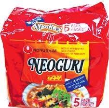 Neoguri Ramen Noodle 4 Packs
