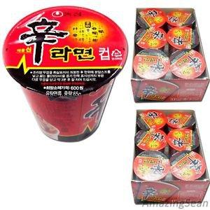 Shin Cup Ramen 12 Cups