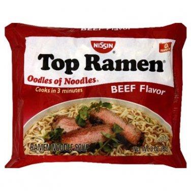 Nissin Beef Flavor 24 Packs