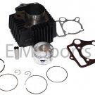 Dirt Pit Bike Big Bore Cylinder Piston Kit 54mm Upgrade 110cc Honda CRF110 XR100