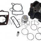 Dirt Pit Bike Cylinder Kit w Piston Rings For 50cc Honda CRF50 XR50 Z50 Z50R
