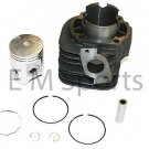 Motor Cylinder Kit w Piston Rings 50mm For Yamaha Jog 90cc Scooter Moped Parts