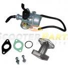 Dirt Pit Bike Carburetor Intake Parts 49cc 50cc 70cc BAJA DR50 Dirt Runner 49 70