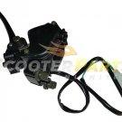Throttle Brake Lever Handle For 49cc 50cc Kymco MXU 49 50 Atv Quad 4 Wheelers