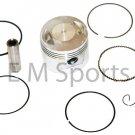 Dirt Pit Bike 150cc Piston Kit Rings Motor Parts For BAJA DR150 Dirt Runner 150