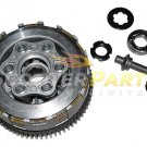 Clutch Assembly Kit Parts 200cc Chinese Scooter Mopeds Motorcycles Honda CG200