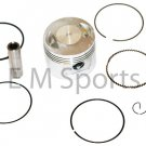 Chinese Dirt Pit Bike 150cc Piston Kit with Rings 62mm Engine Motor 162FMJ Parts