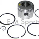 Gas Dirt Pit Bike Engine Motor Piston Kit with Rings 90cc Parts 47mm 1P47FMF