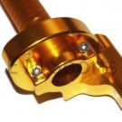 125cc 250cc Dirt Pit Bike CNC Twist Throttle Control Part GOLD Honda CR125 CR250